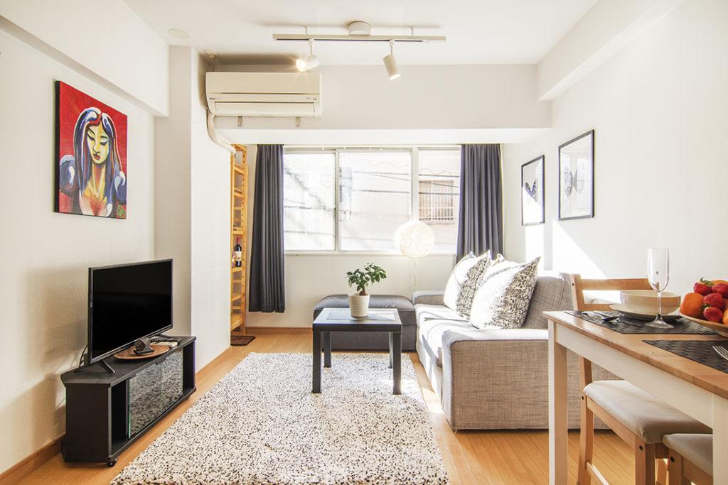 1LDK apartment in business center