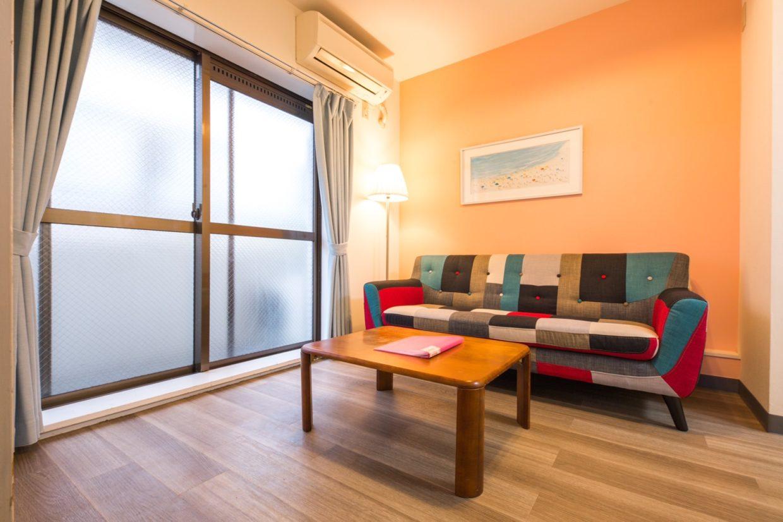 apartment in shinjuku living