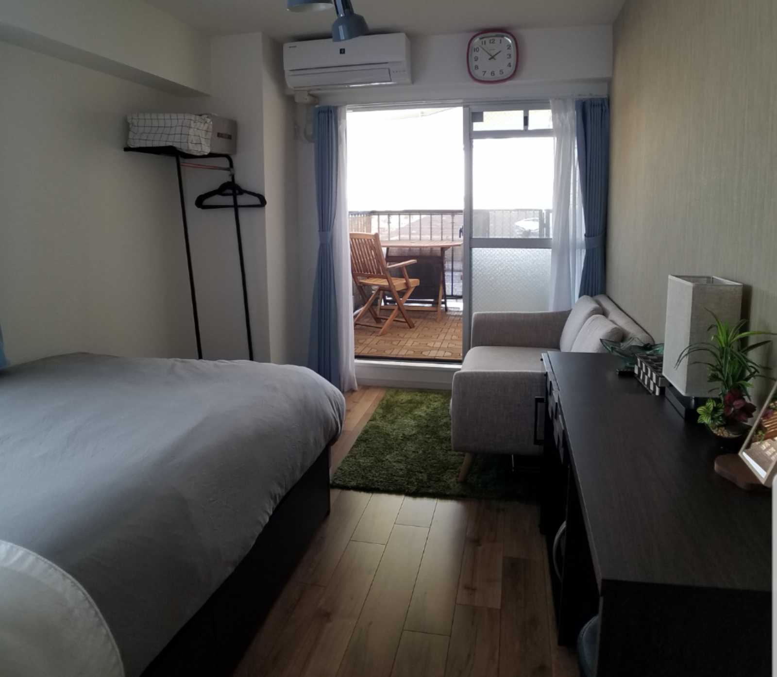 Calm furnished apartment in Shinjuku