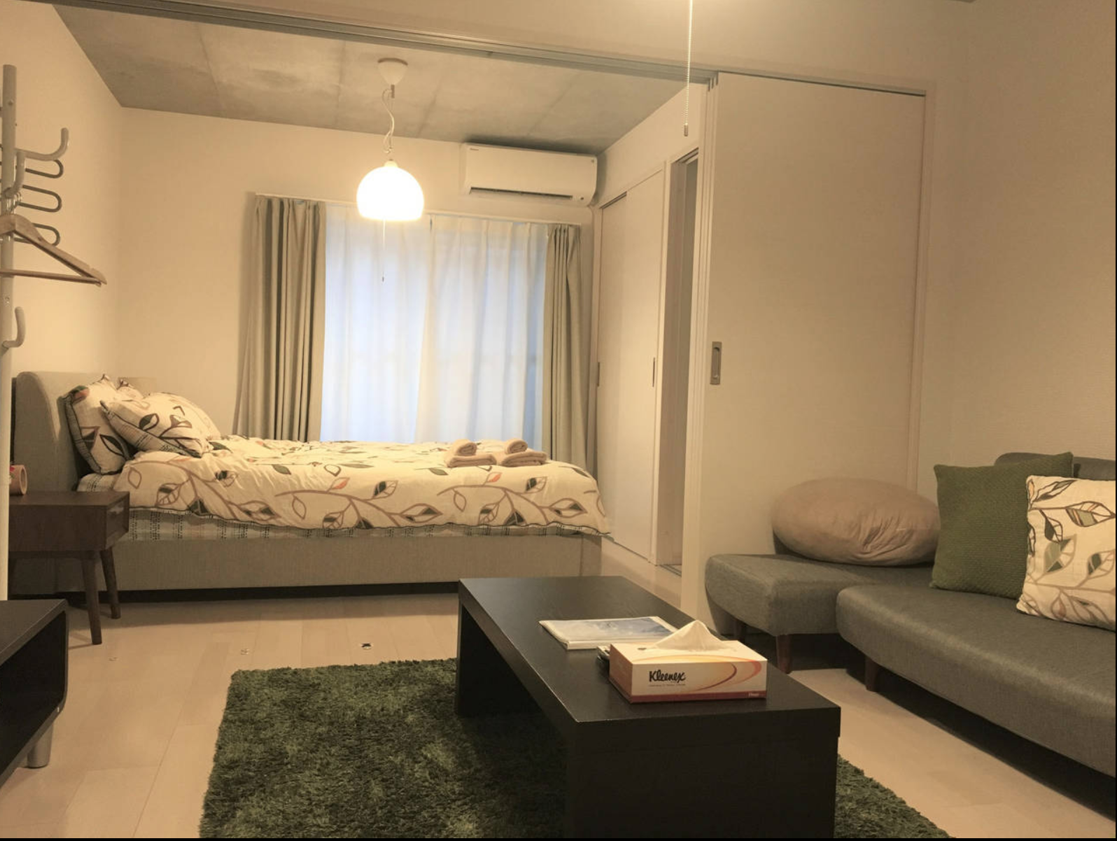 1BR furnished apartment in Minami-Azabu Regalia #201