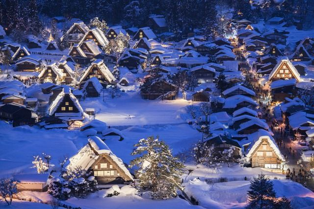shirakawago illumination